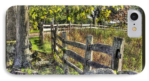 IPhone Case featuring the photograph Gettysburg At Rest - Late Summer Along The J. Weikert Farm Lane by Michael Mazaika