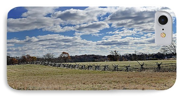 Gettysburg Battlefield - Pennsylvania IPhone Case by Brendan Reals
