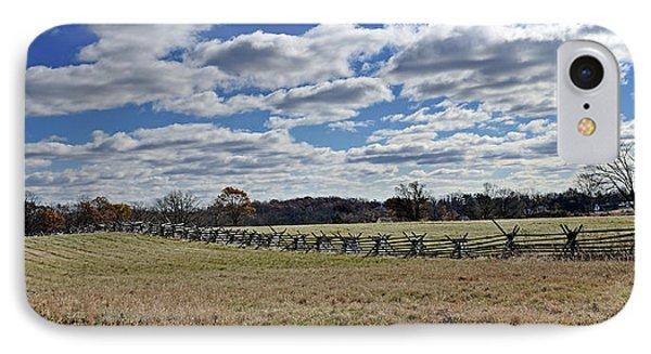 Gettysburg Battlefield - Pennsylvania IPhone Case