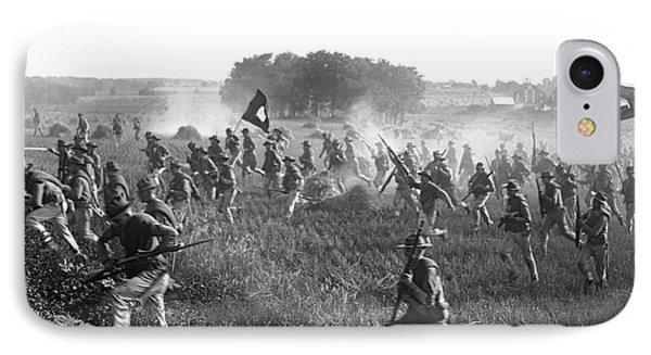 Gettysburg Reenactment IPhone Case by Harris & Ewing