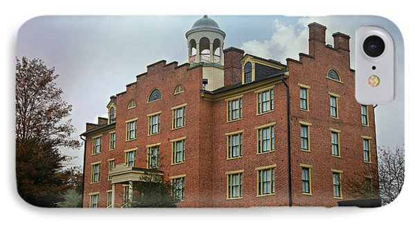 Gettysburg Schmucker Hall IPhone Case by Stephen Stookey