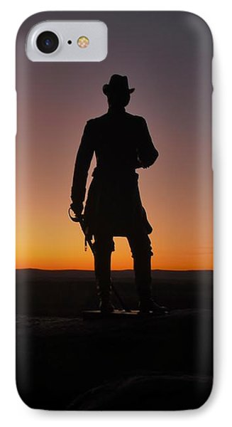 IPhone Case featuring the photograph Gettysburg Sunset by Ed Sweeney