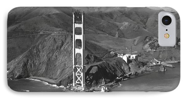 Ggb Tower Under Construction IPhone Case