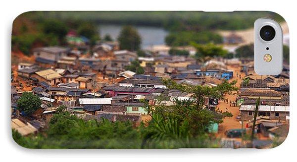 Ghanaian Village IPhone Case