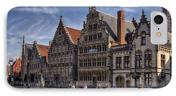 Ghent Guild Houses IPhone Case
