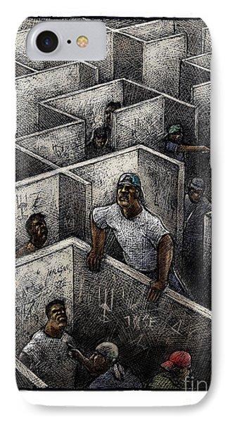 Ghetto Phone Case by Chris Van Es