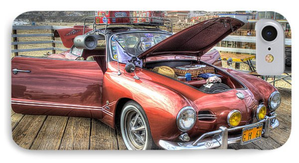 Ghia On Vacation IPhone Case
