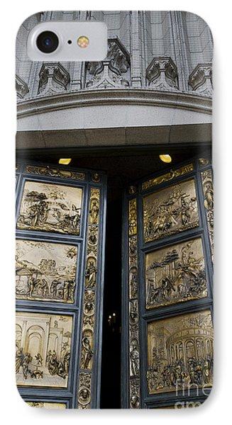 Ghiberti Doors IPhone Case by David Bearden