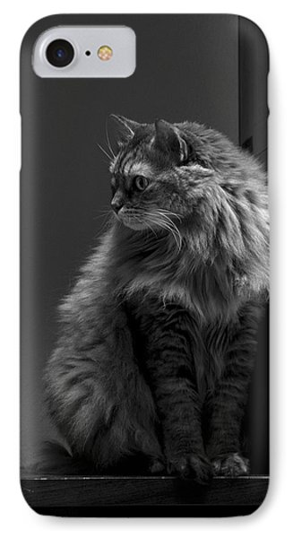 Ghiga Posing In Black And White IPhone Case