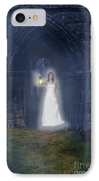 Ghost At The Abbey IPhone Case