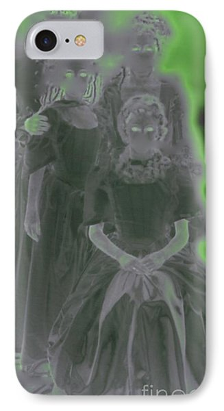 Ghost Family Portrait Phone Case by First Star Art