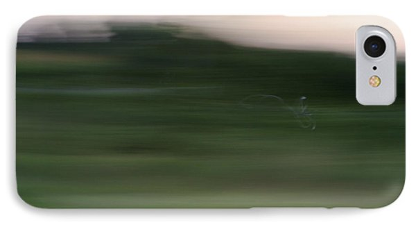 IPhone Case featuring the photograph Ghost Flight - Motion Art Print by Jane Eleanor Nicholas
