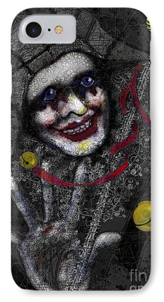 Ghost Harlequin IPhone Case by Carol Jacobs