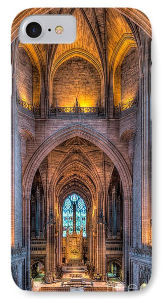 Ghost In The Cathedral IPhone Case by Adrian Evans