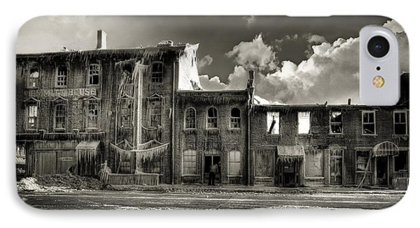 IPhone Case featuring the photograph Ghost Of Our Town by Jaki Miller