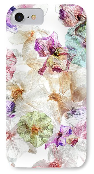 Orchid iPhone 7 Case - Ghost Orchids by Ludmila Shumilova