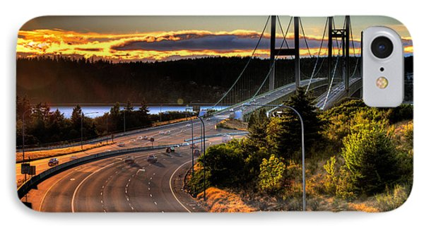 Ghost Riders - Narrows Bridges IPhone Case by Rob Green