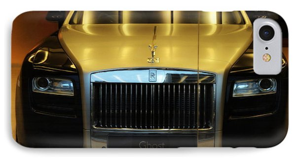 Rolls Royce Ghost IPhone Case by Salman Ravish