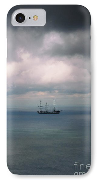 Ghost Ship IPhone Case by Margie Hurwich
