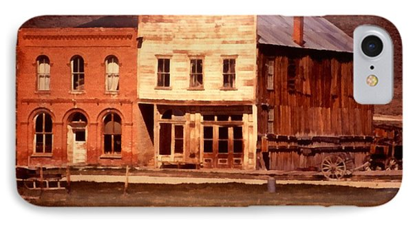 Ghost Town Bodie California Phone Case by Dick Rowan