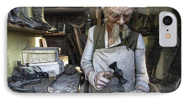 Ghost Town Cobbler - Virginia City - Montana IPhone Case by Daniel Hagerman