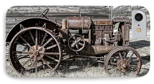 Ghost Town Farm Tractor - Molson Washington IPhone Case