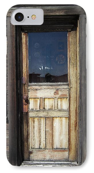Ghost Town Handcrafted Door Phone Case by Daniel Hagerman