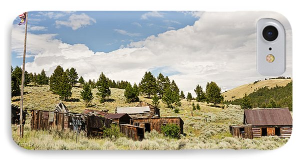 IPhone Case featuring the photograph Ghost Town In Summer by Sue Smith