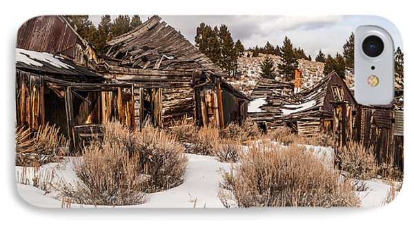 IPhone Case featuring the photograph Ghost Town by Sue Smith