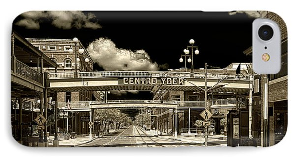 Ghost Town Ybor City IPhone Case by Michael White