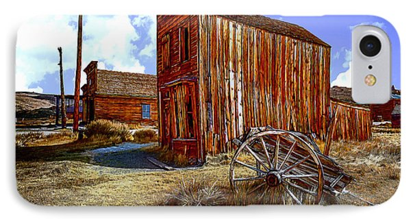 Ghost Towns In The Southwest Phone Case by Bob and Nadine Johnston