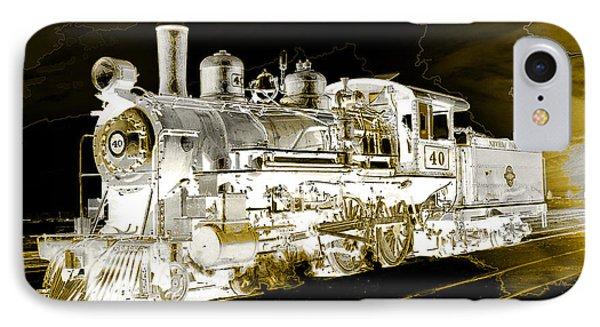 Ghost Train IPhone Case by Gunter Nezhoda