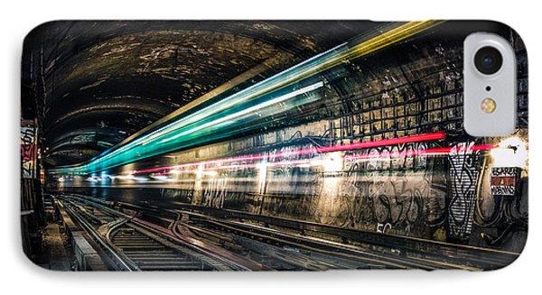 Ghost Train Phone Case by Xavier Liard