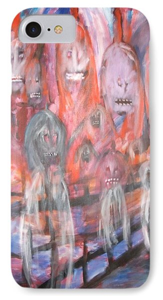 Ghost Walk Phone Case by Randall Ciotti