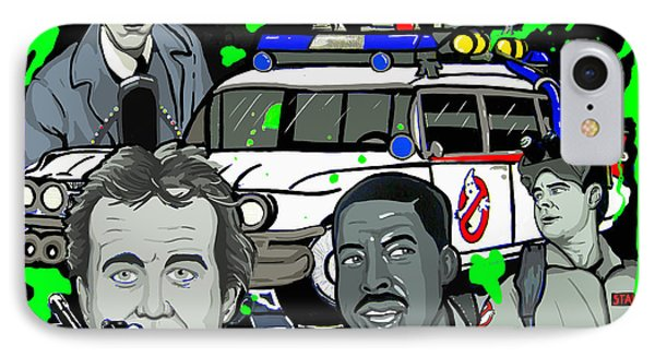Ghostbusters Phone Case by Gary Niles