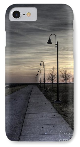 Ghostly Walkway IPhone Case by Jim Lepard