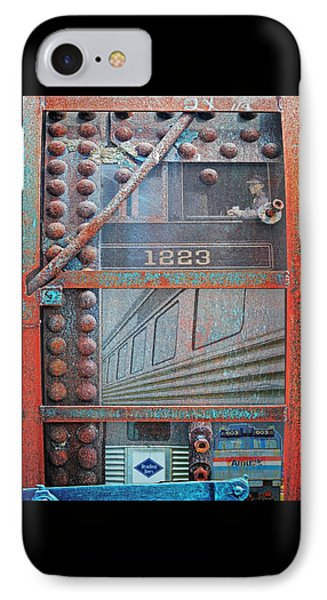 Ghosts Of The Railroad IPhone Case by Joseph J Stevens