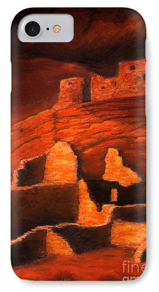 Ghosts Of White House Ruins Phone Case by Jerry McElroy