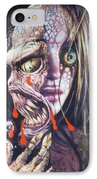 Ghoulshead IPhone Case by Douglas Fromm