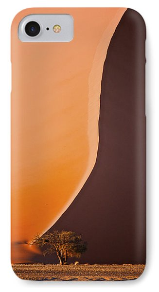 Giant Dunes Of Sossuvlei In Namibia IPhone Case