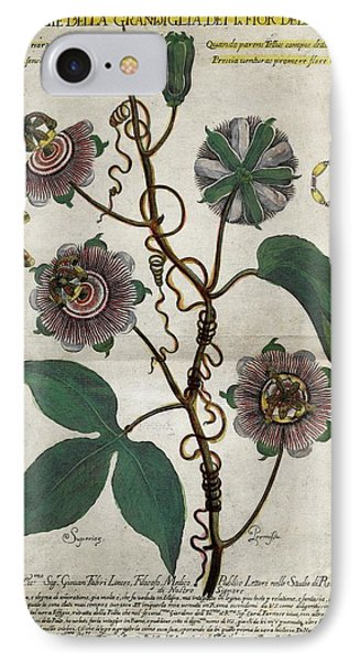 Giant Granadilla Flowers IPhone Case by Natural History Museum, London