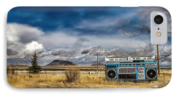 Giant Idaho Radio Tilt Shift IPhone Case by For Ninety One Days