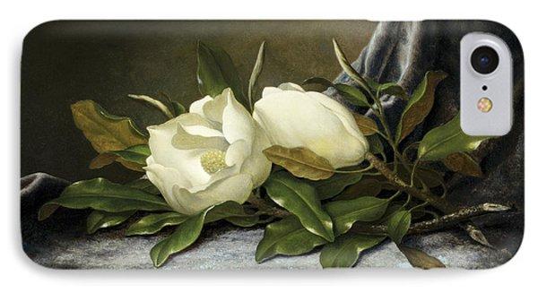 Giant Magnolias IPhone Case