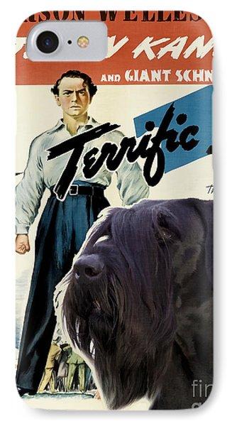 Giant Schnauzer Art Canvas Print - Citizen Kane Movie Poster IPhone Case by Sandra Sij