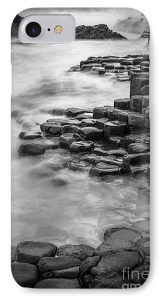 Giant's Causeway Waves  IPhone Case
