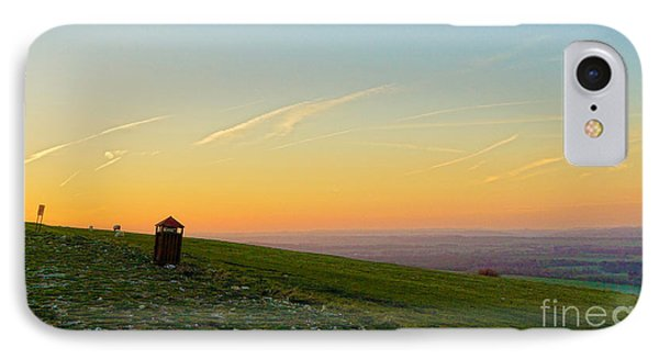 Gibbet Landscape IPhone Case by Andrew Middleton
