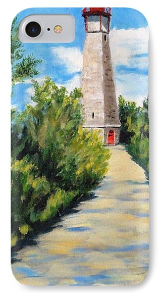 Gibraltar Point Lighthouse IPhone Case by Diane Arlitt