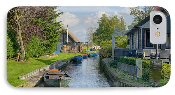 Giethoorn IPhone Case by Uri Baruch