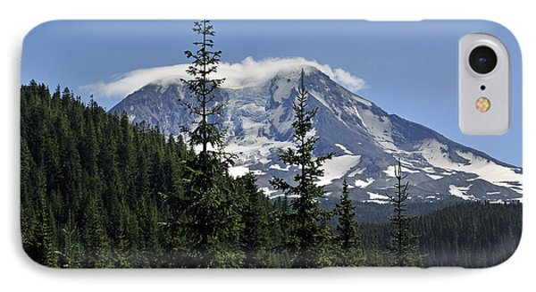 Gifford Pinchot National Forest And Mt. Adams IPhone Case by Tikvah's Hope