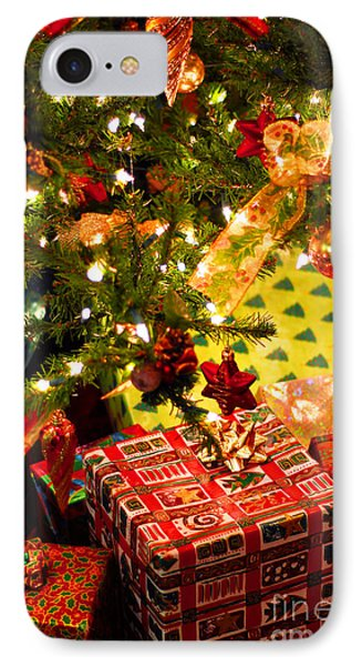 Gifts Under Christmas Tree IPhone Case